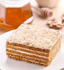 prajitura cu miere de albine
