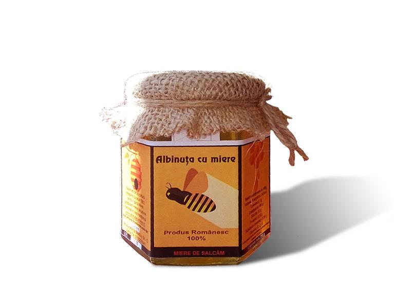 miere din flori de salcam